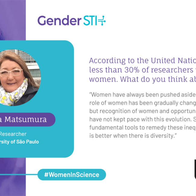 "Cecilia Matsumura: ""Social Policies Are Tools to Address Gender Inequality in Science"""