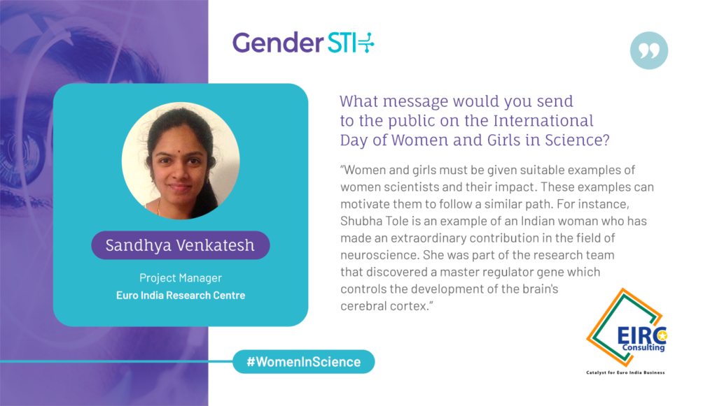 """Sandhya Venkatesh: """"Women and Girls Must Be Given Examples of Women Scientists and Their Impact"""""""