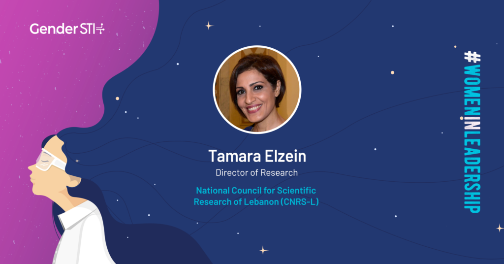 Tamara Elzein, director of research at the National Council for Scientific Research of Lebanon CNRS-L, is one of the nominees for Gender STI's #WomenInScience campaign.