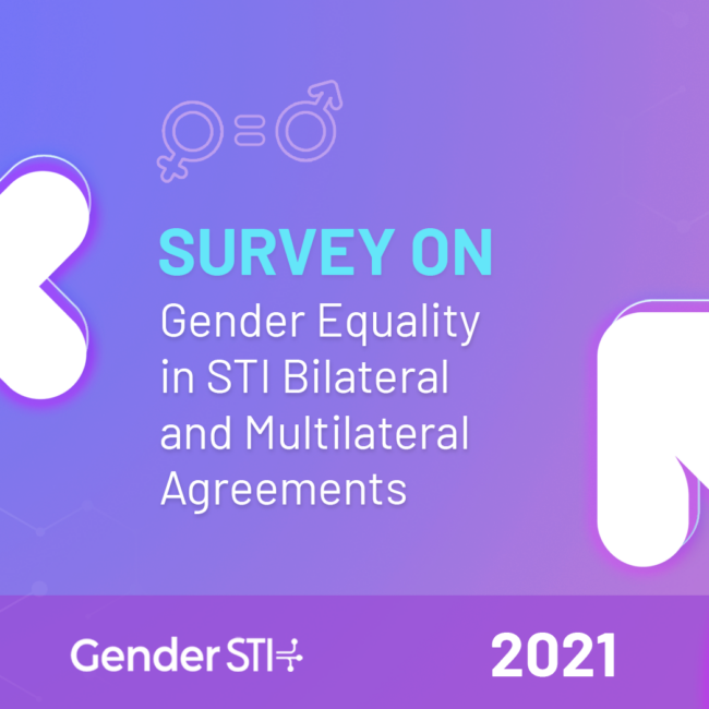 Gender STI Launches Survey on Gender Equality in International Cooperation in STI