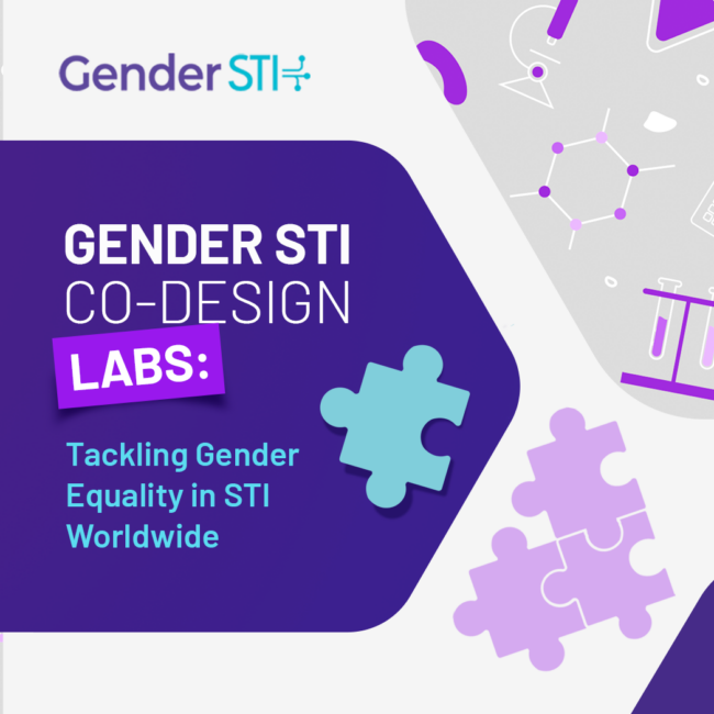Gender STI Co-Design Labs: Asia, South Africa and Europe Agenda